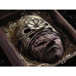 Dekoracyjny Prezent RZEŹBA Egzotyczna Maska MISTYKI