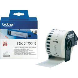 Taśma papierowa ciągła DK-22223 do drukarek Brother serii QL (50mm x 30.48m)