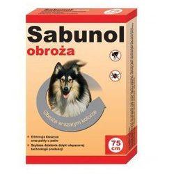 Sabunol obroża szara przeciw pchłom i kleszczom 75 cm