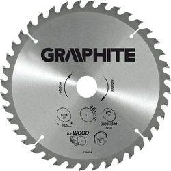 Tarcza do cięcia GRAPHITE 55H607 315 x 30 mm do pilarki widiowa + DARMOWY TRANSPORT!