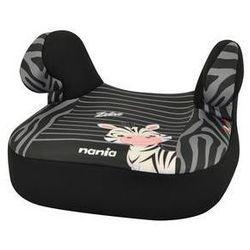 Fotel samochodowy Nania Dream+ 2014 Zebre 15-36 kg Czarna/Szara
