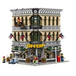Lego CITY Rand emporium modular houses 10211