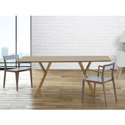 Stół do jadalni, kuchni, salonu - 180 cm - sosna - LISALA