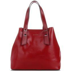 dd100ae344ec2 Klasyczne Torebki Damskie firmowy Kuferek marki Silvia Rosa z kosmetyczką  Czerwone (kolory)