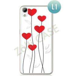 Obudowa Zolti Ultra Slim Case - HTC Desire 626 - Romantic- Wzór L1 - L1