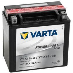 Akumulator Powersports AGM YTX14-4/YTX14-BS Zapisz się do naszego Newslettera i odbierz voucher 20 PLN na zakupy w VidaXL!