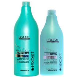 Loreal Volumetry Zestaw nadający objętość: szampon 1500ml + odżywka 750ml