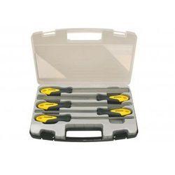PROTECO Zestaw pilników 5-cz. 200mm w walizce plastikowej 10.14-9801-2 (ZNALAZŁEŚ TANIEJ - NEGOCJUJ CENĘ !!!)