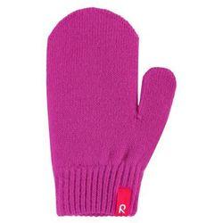 Rękawiczki Reima Stig cienka włóczka wełniana różowe jednopalczaste