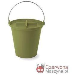 Kosz na śmieci Authentics H2O - 13 l, zielony
