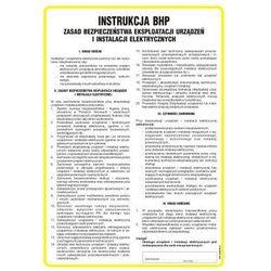 Instrukcja ogólna zasad bezpieczeństwa eksploatacji urządzeń i instalacji elektrycznych