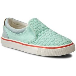 Półbuty WRANGLER - Icon Slip On Girl WG16103B Lt. Water Green 382