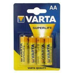 4 x Bateria AA/R6P VARTA SUPERLIFE