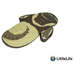 LIFEMARQUE Łóżeczko turystyczne LittleLife ze śpiworem - Krokodyl