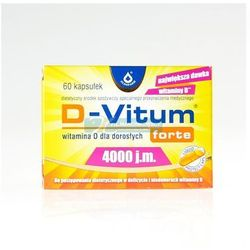 D-Vitum Forte 4000 j.m. 60KAPS.