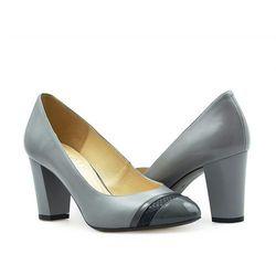 Pantofle Kotyl 7057 Szare