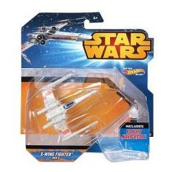 Mattel Hot Wheels Star Wars Statek Kosmiczny X-Wing Fighter Red 3 CKR61 (CGW52)