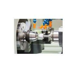 Foto naklejka samoprzylepna 100 x 100 cm - Motoryzacyjny Tokarka cnc szlifowanie i części