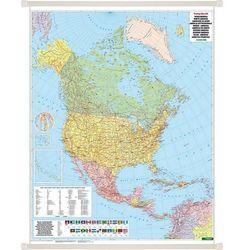 Ameryka Północna mapa ścienna polityczna 1:8 000 000 Freytag & Berndt