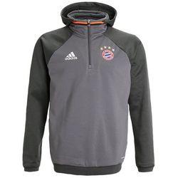 adidas Performance FC BAYERN MÜNCHEN Bluza z polaru granit