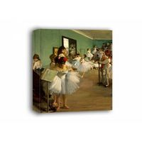 The dance class, edgar degas - obraz na płótnie