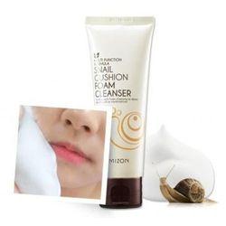 Mizon Snail Cushion Foam Cleanser - Oczyszczająca pianka do mycia twarzy ze śluzem ślimaka 120ml