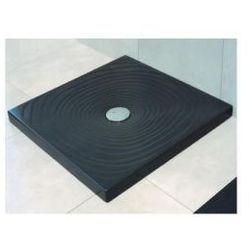 Brodzik kwadratowy Flaminia Water Drop 80 czarny, 80 x 80 cm DR80