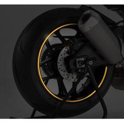 Żółty fluorescencyjny pasek PUIG na felgi (z aplikatorem)