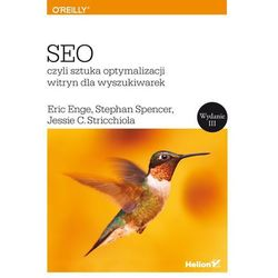 SEO, czyli sztuka optymalizacji witryn dla wyszukiwarek - Wysyłka od 3,99 (opr. miękka)