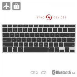KANEX Multisync mini keyboard - Klawiatura Bluetooth OS X i iOS (Mac, iPad, iPhone, Apple TV)