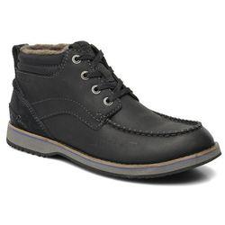 Buty sznurowane Clarks Mahale Mid Męskie Czarne 100 dni na zwrot lub wymianę