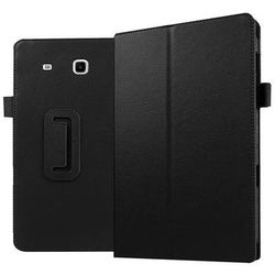 0990431d3d067 Czarne etui skórzane PU Stand Cover Galaxy Tab E 9.6 T560 - Czarny
