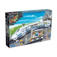 BanBao, Pociąg osobowy RC, klocki plastikowe Darmowa dostawa do sklepów SMYK