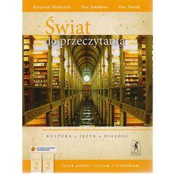 J.Polski LO Świat do przeczytania 2/2 w.2014 NPP (opr. broszurowa)