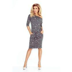 6664fff5dc suknie sukienki figl m203 bawelniana sukienka wiazana w pasie bez ...
