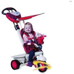 Rowerek SMART TRIKE Dream Touch Steering 4w1 Czerwony