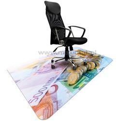 Podkładka ochronna ze wzorem EURO 010 - pod krzesło - 120x180cm - grubość. 1,3mm