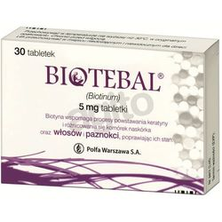Biotebal tabl. 5 mg 30 tabl. (blistry)