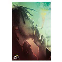 Bob Marley - Papieros - plakat
