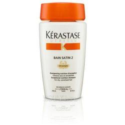 Kerastase Bain Satin 2 - Kąpiel odżywcza do włosów suchych, uwrażliwionych 250 ml