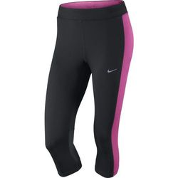 spodnie do biegania damskie 3/4 NIKE DRI-FIT ESSENTIAL CAPRI / 645603-013 - NIKE DRI-FIT ESSENTIAL CAPRI API:Promocja dla towaru o ID: 26704 (-34%)