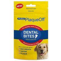 VETEXPERT PlaqueOff Dental Bites Medium/Large Dogs - usuwanie kamienia + higiena zębów dla psów NOWOŚĆ