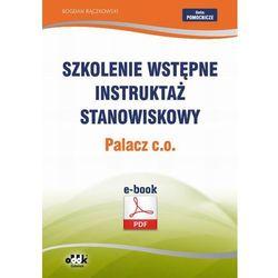 Szkolenie wstępne Instruktaż stanowiskowy Palacz c.o.