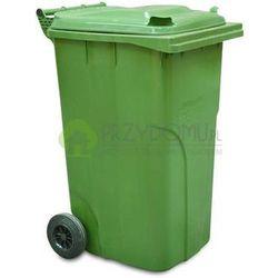 Kosz pojemnik na odpady stałe 240L zielony
