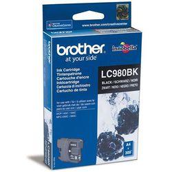 Wkład atramentowy Brother LC980 Black