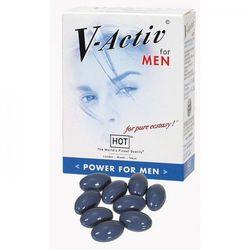 Mocna erekcja i dłuższy seks - tabletki 20 szt V-Activ