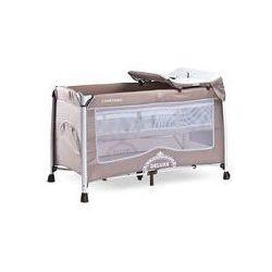 Łóżeczko turystyczne Deluxe Caretero (beżowe)