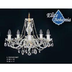 Żyrandol kryształowy 5-ramienny - Elite Bohemia