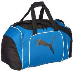 Puma Team Cat Medium Bag Black/Power Blue - Gwarancja terminu lub 50 zł! - Bezpłatny odbiór osobisty: Wrocław, Warszawa, Katowice, Kraków
