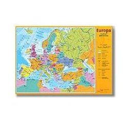 Europa/Świat - podział polityczny Mapa ściennna